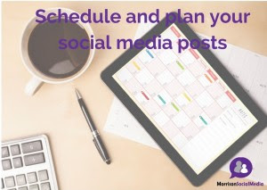 Plan your posts