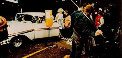 Fotografías del rodaje de American Graffiti