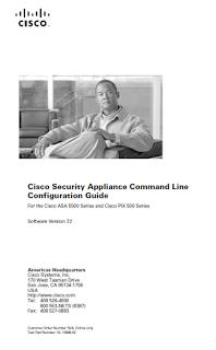 Télécharger Livre Gratuit Cisco Security Appliance Command Line pdf