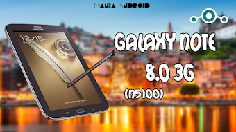 Tutorial - LineageOS 14.1 Android Nougat 7.1.1 Oficial no Galaxy NOTE 8.0 3G