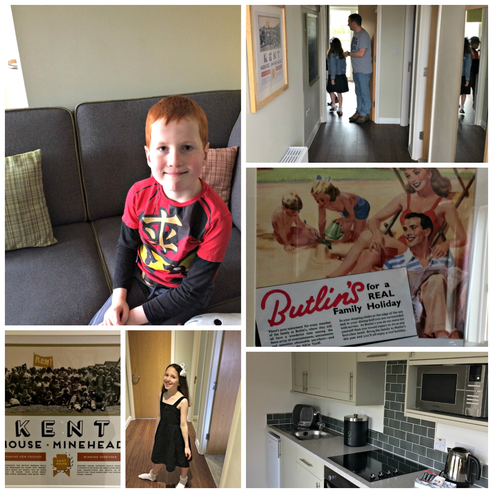 Kitchen and retro detailing - Lakeview chalet, Butlins Minehead