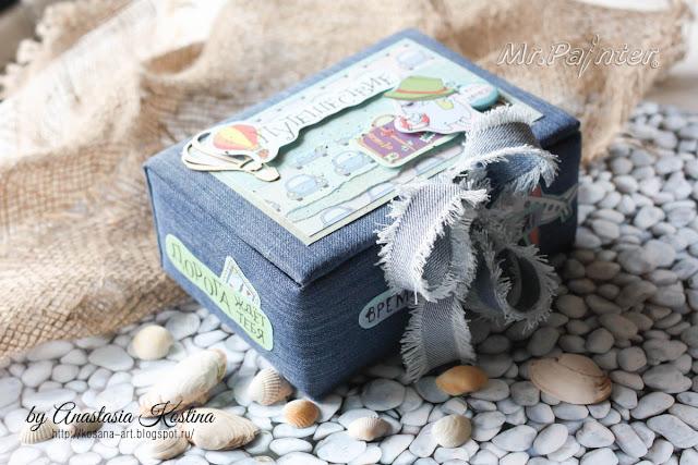 бокс для фото, коробка для фото, фотобокс, анастасия костина, kosana art