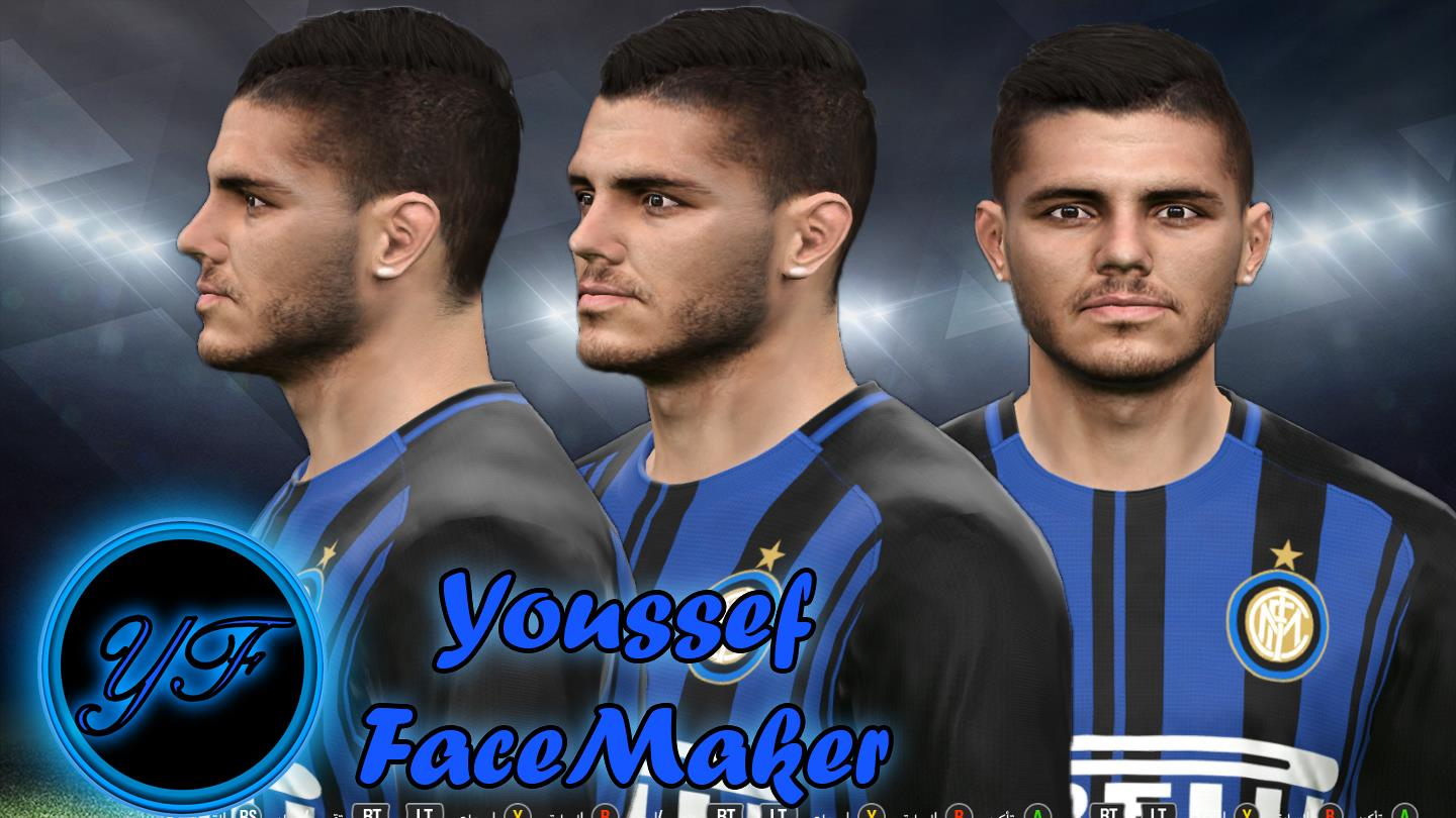 PES 2017 Icarde face by Youssef Facemaker