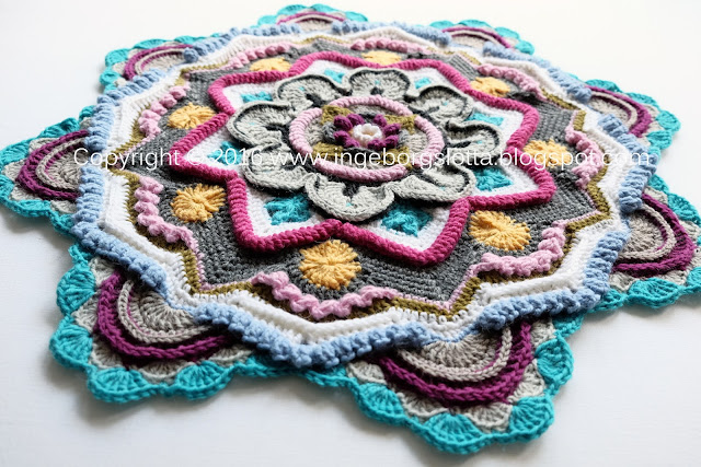 Mandala madness CAL 2016 part 5 crochet