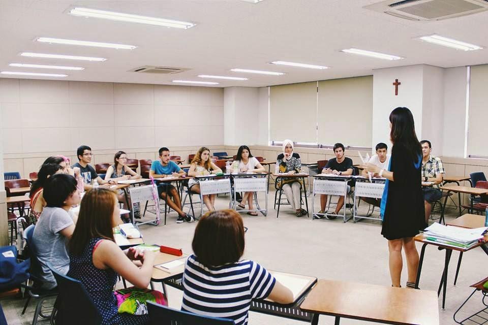 Học cao học tại đại học Myongji