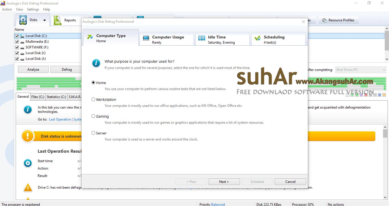 Free Download Auslogics Disk Defrag Professional Full Version