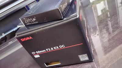 SIGMA 17-50mm F2.8 EX DC-1
