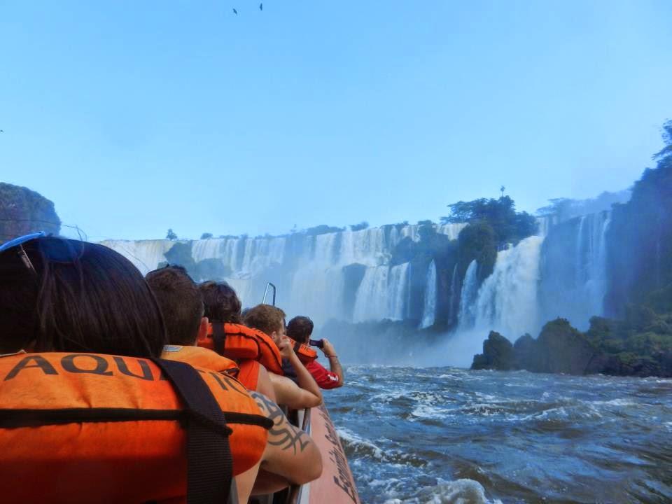 Wanderlust Chloe - Chloe Gunning - Iguazu Falls Speedboat