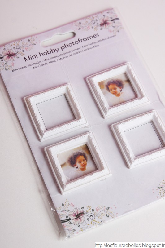 Cadres miniatures pour photos