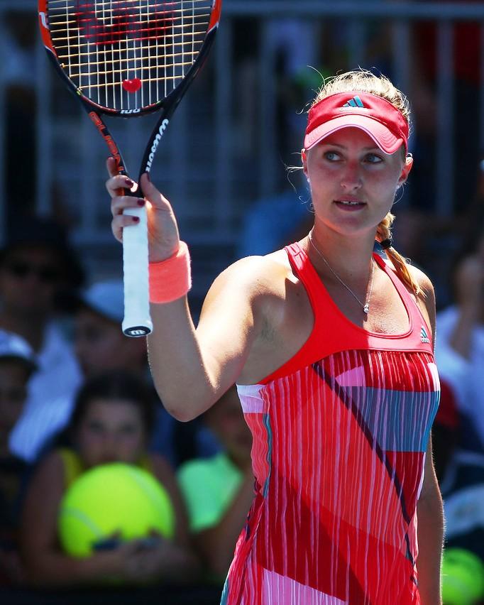 WTA hotties: 2016 Hot-100: #13 Kristina Mladenovic (@KikiMladenovic)
