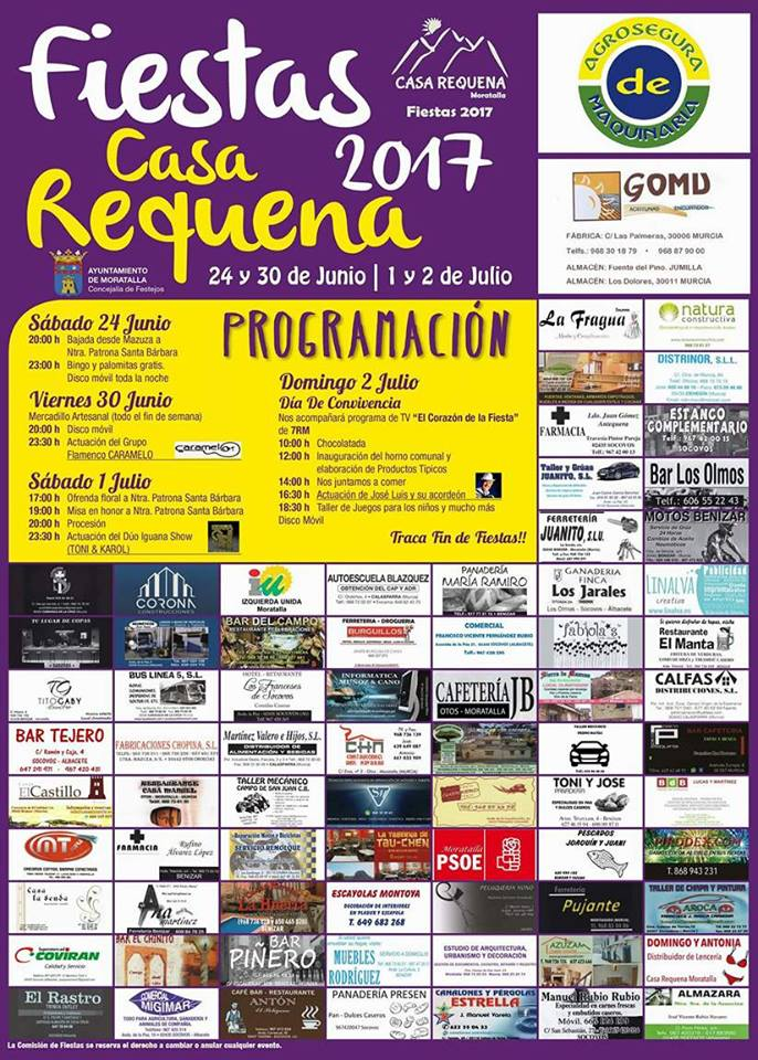 fiestas casa requena