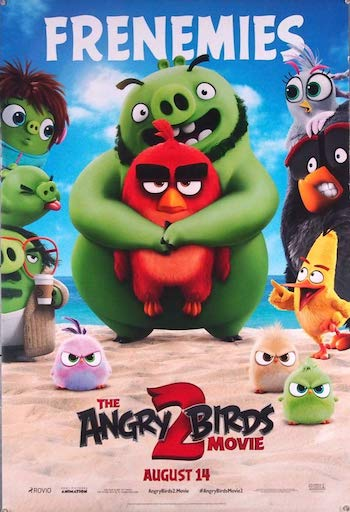 The Angry Birds Movie 2 (2019) English 720p BRRip 800MB