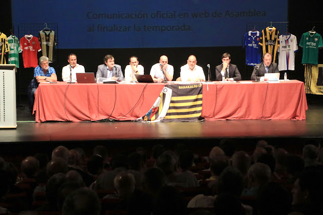Fútbol | El Barakaldo CF celebra el 11 de julio asamblea ordinaria para aprobar su presupuesto