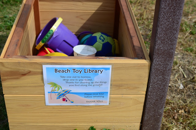 beach toy library
