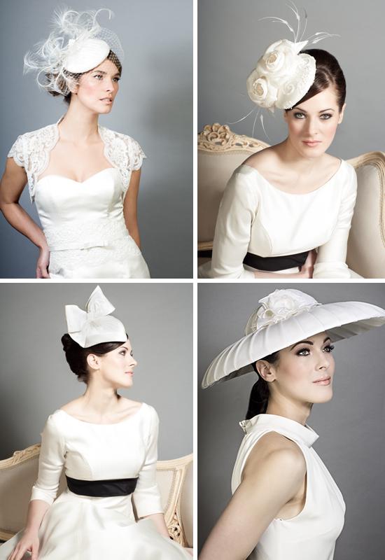 Rachel Trevor Morgan bridal millinery