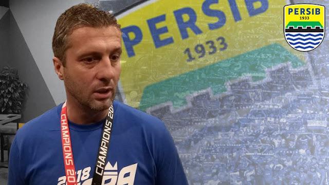 Miljan Radovic Pelatih Kepala Persib Bandung 2019