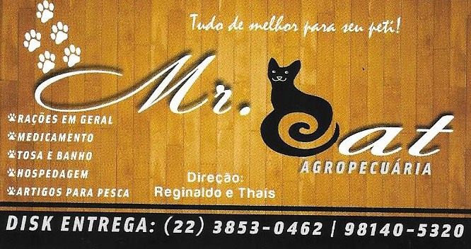Mr. CAT . AGROPECUÁRIA !