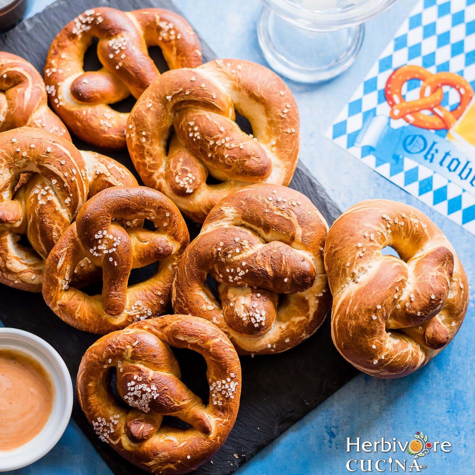 herbivore cucina german soft pretzels laugenbrezel for breadbakers