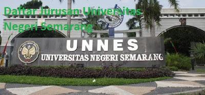 Daftar jurusan magister sarjana UNNES Universitas Negeri Semarang Terbaru, daftar program studi UNNES Universitas Negeri Semarang Terbaru, daftar fakultas UNNES Universitas Negeri Semarang Terbaru