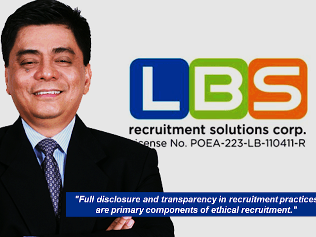 "This article is filed under the category of recruitment agencies, Overseas Filipino Workers, The International Trade Union Confederation , International Labor Organization, pre-departure orientation, POEA, Philippines,    Overseas Filipino Workers (OFWs) can now rate their recruitment agencies through an online platform.  The International Trade Union Confederation (ITUC), together with the International Labor Organization (ILO) Fair Recruitment, developed the Migrant Recruitment Advisor where OFWs themselves can do a review through firsthand experiences with the certain recruitment agencies.  With this website, OFWs can look for their agencies and rate it with having 5 stars as excellent. The reviews include recruitment fees, pre-departure orientation, and the employment contract.  Recruitment agencies accredited by the Philippine Overseas Employment Administration (POEA) are being reviewed.   It also has important links to law and policies in the Philippines that can inform and equip the readers about their rights and privileges.  Advertisement           Sponsored Links  The site is available in two languages—English and Filipino. It will be available in other languages as well soon.  Aside from the Philippines, the site also features agencies in other countries such as Nepal, Indonesia, Qatar, Saudi Arabia, Hong Kong, Malaysia, and Singapore. ""The Migrant Recruitment Advisor can help prospective Filipino migrant workers make informed decision or choice by going through online reviews,"" ILO Philippines director Khalid Hassan said.  ILO sees the platform as another venue where migrant workers can know more about their agencies. OFWs can directly go to www.recruitmentadvisor.org and look up for the agency they want to review and rate.      Recruitment agencies also positively welcome the rating site saying that it could provide transparency among the recruitment agencies which will benefit the applicants. This commends the agencies who assist their clients well by providing assistance like answering their queries promptly through their social media pages or through their hotline numbers which not all recruitment agencies do.  LBS Recruitment solutions provide 24/7 assistance to their applicants through their Facebook page with over a million followers.          ""Full disclosure and transparency in recruitment practices are primary components of ethical recruitment"", said Lito B. Soriano, CEO of a leading recruitment agency, LBS Recruitment Solutions.    This article is filed under the category of recruitment agencies, Overseas Filipino Workers, The International Trade Union Confederation , International Labor Organization, pre-departure orientation, POEA, Philippines,  READ MORE:  Find Out Which Country Has The Fastest Internet Speed Using This Interactive Map    Find Out Which Is The Best Broadband Connection In The Philippines   Best Free Video Calling/Messaging Apps Of 2018    Modern Immigration Electronic Gates Now At NAIA    ASEAN Promotes People Mobility Across The Region    You Too Can Earn As Much As P131K From SSS Flexi Fund Investment    Survey: 8 Out of 10 OFWS Are Not Saving Their Money For Retirement    Can A Virgin Birth Be Possible At This Millennial Age?    Dubai OFW Lost His Dreams To A Scammer    Support And Protection Of The OFWs, Still PRRD's Priority"