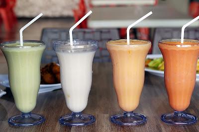 Aneka juice  di Vigor Resto and Cafe