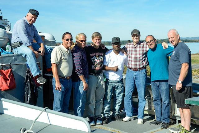 Veterans on Launch 5 vessel.