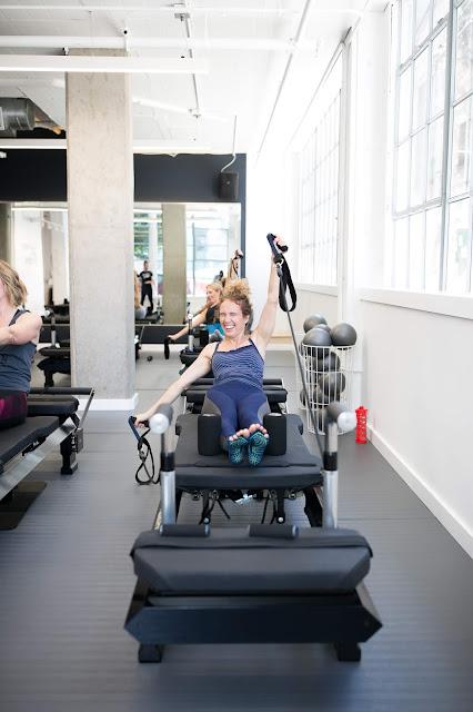 pilates refomer machine