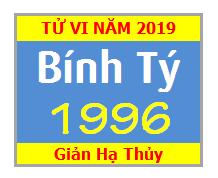 Tử Vi Tuổi Bính Tý 1996 Năm 2019 - Nam Mạng - Nữ Mạng