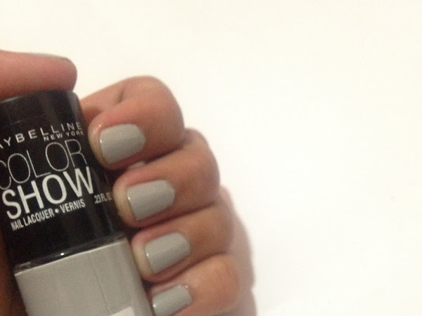 SULIT PRODUCT | Maybelline Color Show Nail Lacquer in Audacious Asphalt
