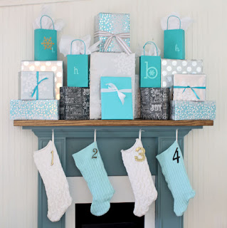 regali di natale in blu