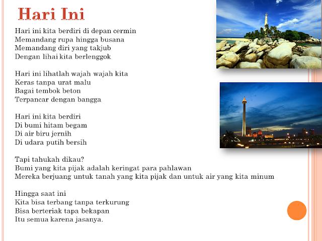 Puisi Kemerdekaan Karya Anak Bangsa - Tugas Sekolah ...