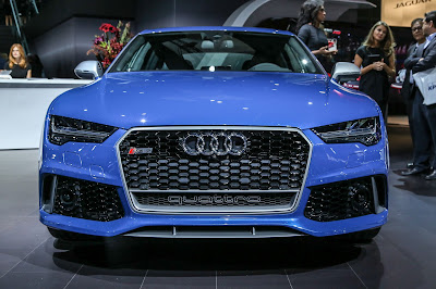 Audi RS7 Performance front angle HD wallpaper
