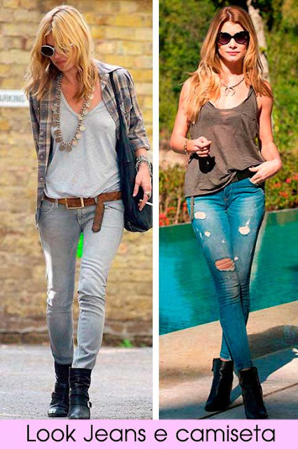 Looks  Kate Moss e Diana Rock Story