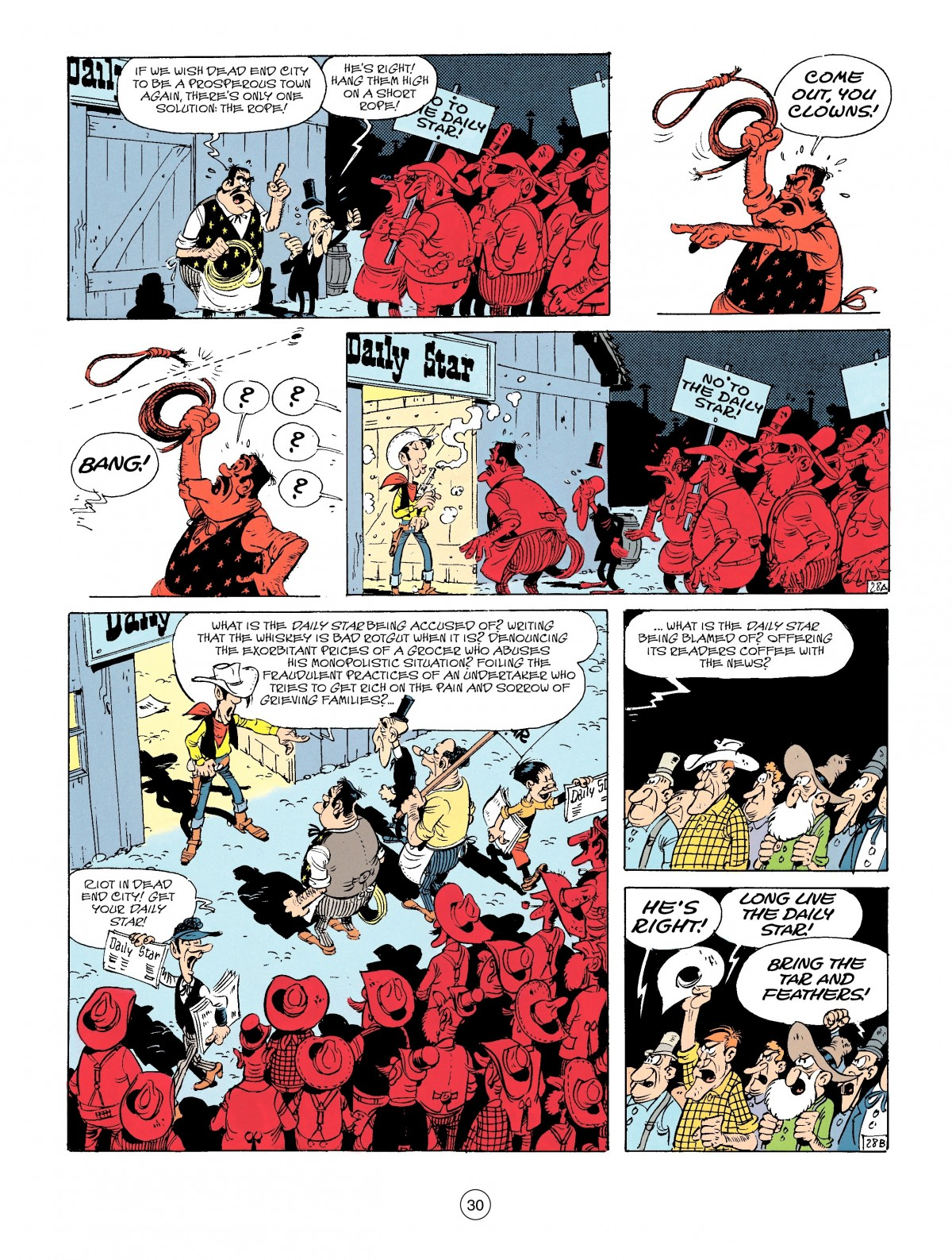 Read online A Lucky Luke Adventure comic -  Issue #41 - 30