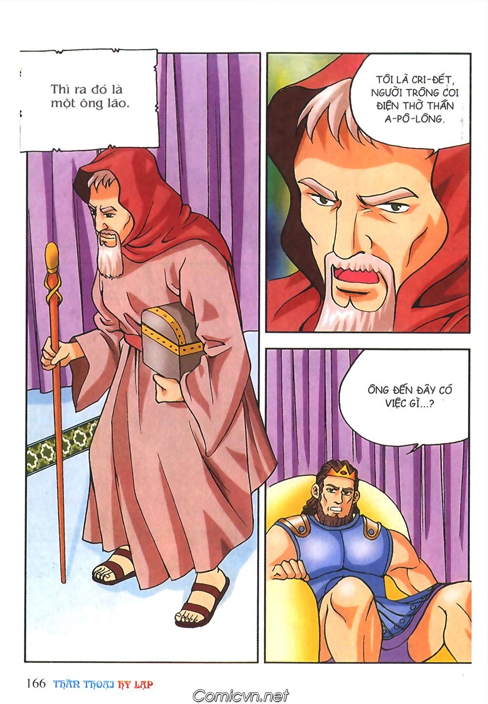 Thần Thoại Hy Lạp Màu - Chapter 56: Hai vị tướng và hai mỹ nữ - Pic 19