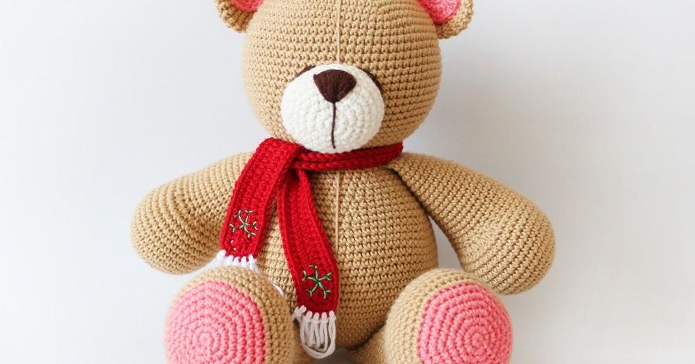 Tiny Amigurumi Bear Pattern : Amigurumi Bear Forever Friends Tiny Mini Design