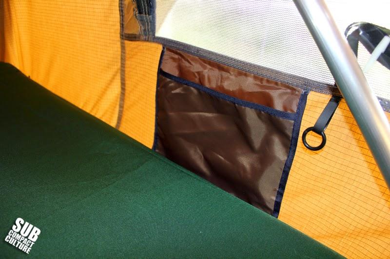 Tent pocket