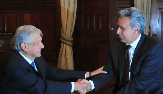 El presidente de Ecuador copia a AMLO; vende avión presidencial y baja sueldo a altos funcionarios
