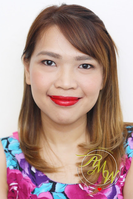 a photo of Cathy Doll Geisha Hanazakari Lip Matte Red Rose