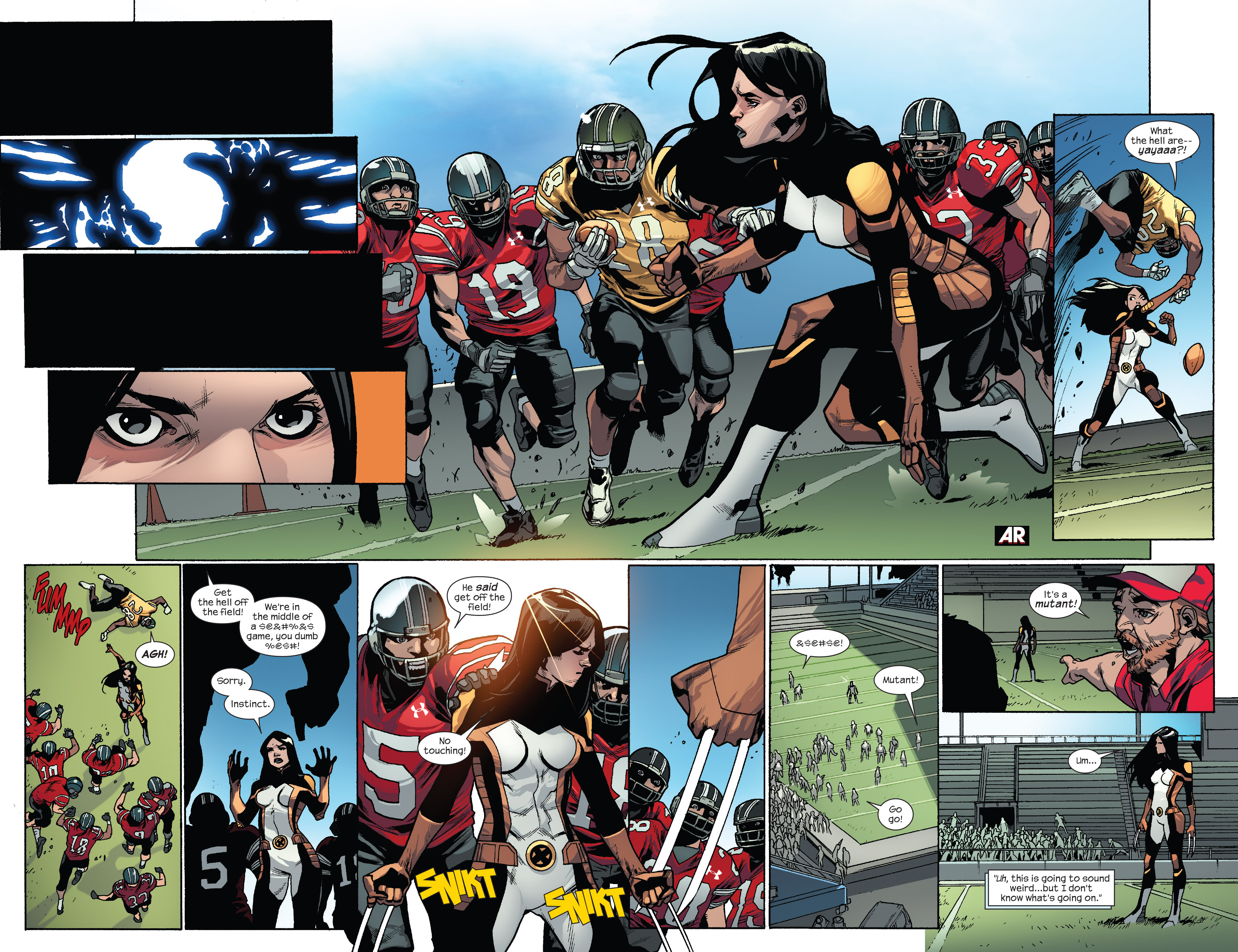 Read online All-New X-Men (2013) comic -  Issue #32 - 7