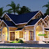 Western style sloping roof 3 bedroom residence