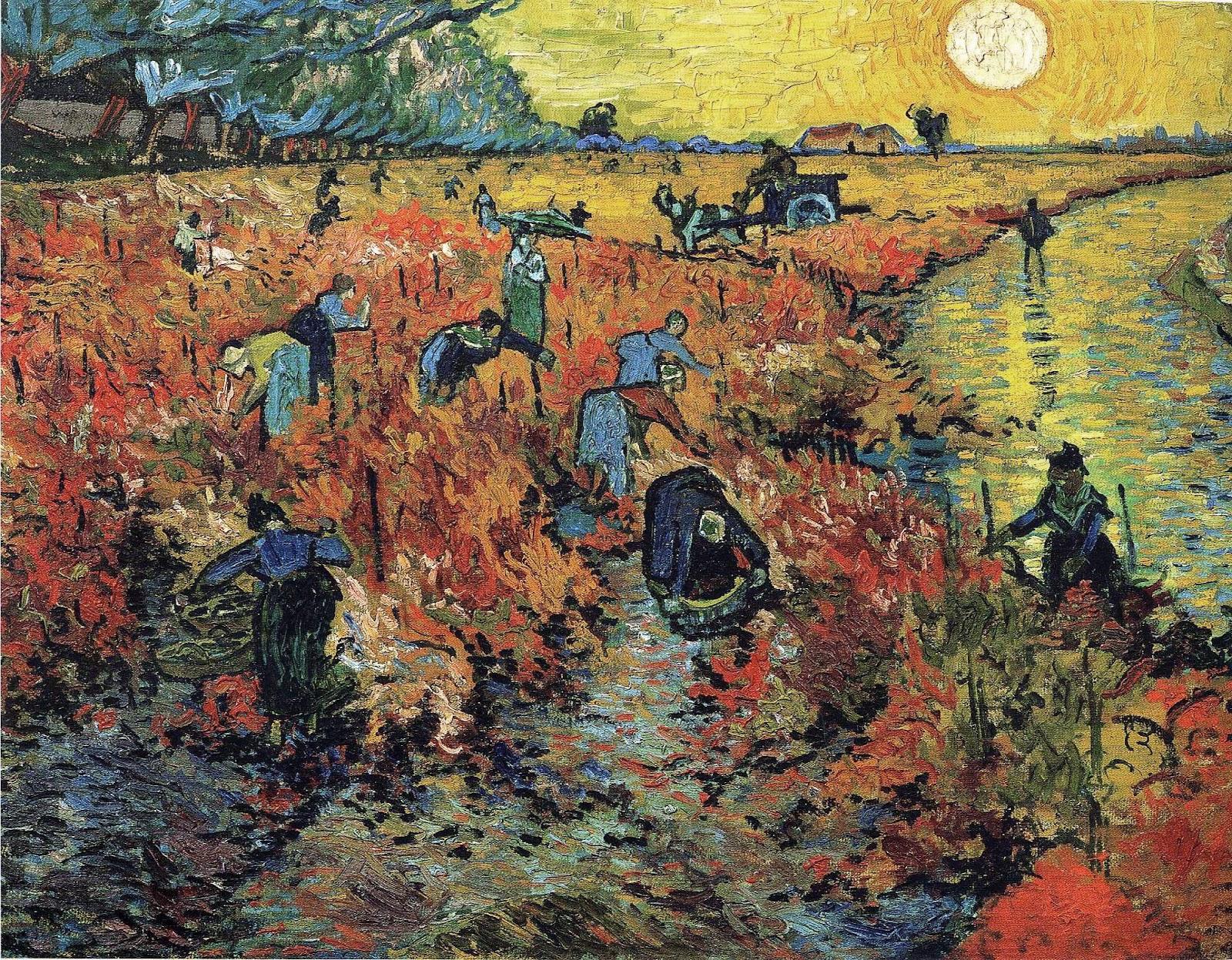 ヴィンセント・ヴァン・ゴッホの赤い葡萄畑