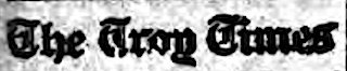 Genealogy: Searching Troy NY Newspapers for Ancestors