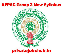APPSC Group 2 New Syllabus