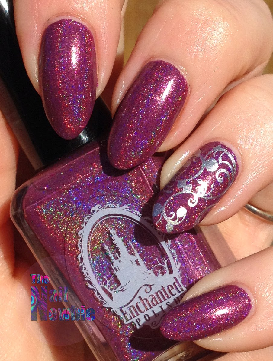 Nail Newbie Notd: Nail Newbie: Enchanted Polish February 2014