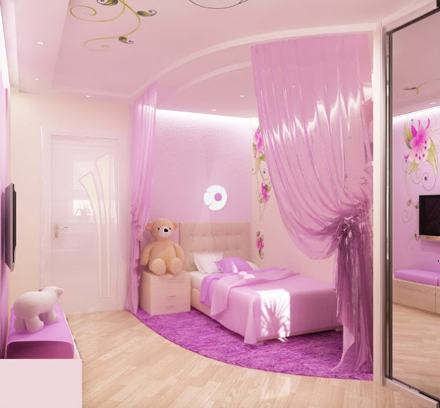 little-girl-pink-bedroom-ideas  | home decor ideas