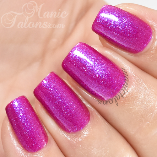Madam Glam Gel Polish Not Only You and Me Swatch