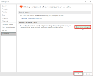 Cara Mengaktifkan Dan Menonaktifkan Fungsi Macro Di Microsoft Office