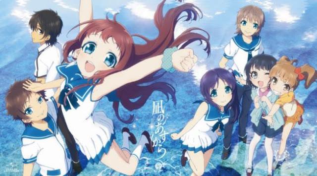 Anime P.A.Works Terbaik - Nagi no Asukara