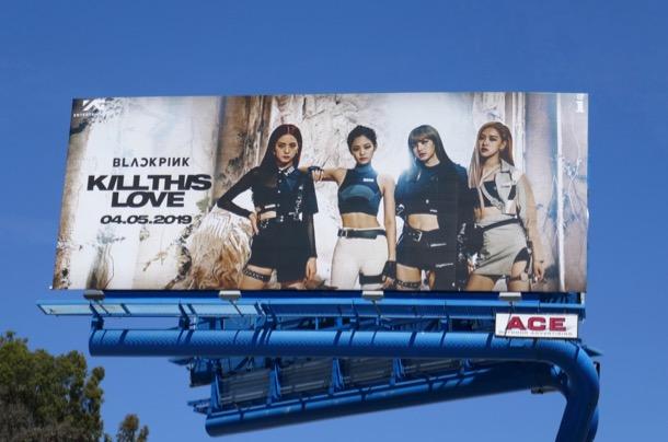 Blackpink Kill this love billboard